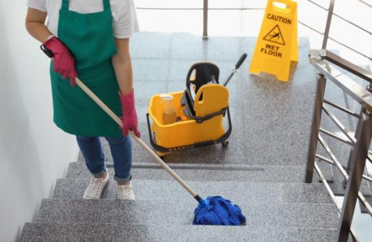 Nettoyage escaliers