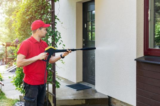 Nettoyage murs extérieurs